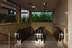 Stairways to subway station (Dr_Babis) Tags: nikon d610 fx nikon1635mmf4vr wide 24mm greece athens hellas attiki subway station staircases street city metro
