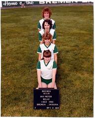 1983 - girls 800 meter relay