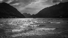 a storm is coming (gotan-da) Tags: mountain lake blackwhite schwarzweiss noiretblanc blackandwhite bw monochrome