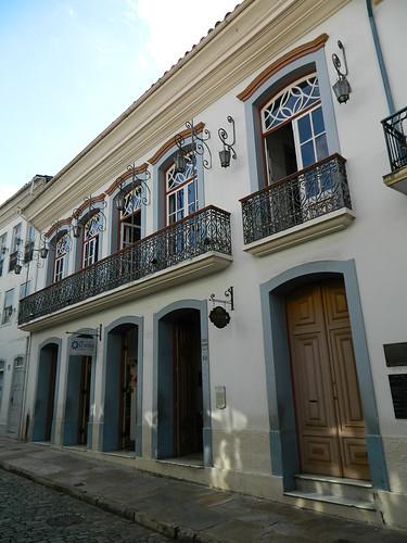 Casa de Tiradentes - Rua São José, nº 132 - Ouro Preto (MG)