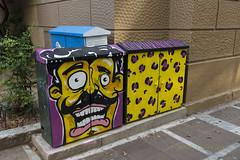 Graffitti. (Dr_Babis) Tags: nikon d610 fx 16mm 35mm nikon1635mmf4vr graffiti street streetart city athens attiki greece hellas
