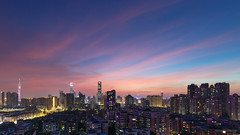 Let it fly (kevinho86) Tags: pearlrivernewtown cloudy canon colour sky 天空 雲 city cityscapes skyscraper skyline urban 空 空·雲の寫真 城市 landscape scenery scape canton guangzhou sunset downtown magichour ontheroof 珠江新城 内透 建築 twilight art wideangle 天際線 lightshadow architecture 都會 highview 169 ef1635f4lusm eos5diii