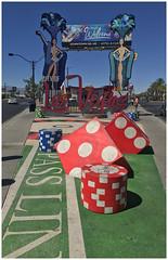 S Las Vegas Boulevard - Las Vegas NV (Markus Alydruk) Tags: lasvegasboulevard lasvegas nv nevada usa america madhare sincity gambling casinos dice showgirls city sign welcome chips street avenue boulevard sidewalk clarkcounty