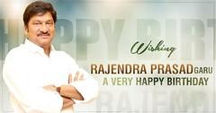 - Happy Birthday - गद्दे राजेंद्र प्रसाद (जन्म 19 जुलाई 1954) एक भारतीय फिल्म अभिनेता हैं जो मुख्य रूप से तेलुगु सिनेमा में काम करते हैं। 1991 में, उन्हें एरा मंदारम के लिए सर्वश्रेष्ठ अभिनेता के लिए आंध्र प्रदेश का नंदी पुरस्कार मिला और लगभग 15 वर्षों के (hrollywoodofficial) Tags: instagramapp square squareformat iphoneography uploaded:by=instagram