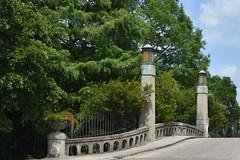 HFF Dreyfous Drive, New Orleans City Park (Omunene) Tags: fence fencefriday bridge strait dreyfousdrive citypark neworleans bayoumetairie biglake jardiniere wpa worksprogressadministration