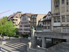 Basel Tour A (16) (FT.M) Tags: basel switzerland europe travel rhine river ducks castle tour beautiful tower cathedral gate moat hosts art architecture bridge