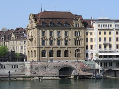 Basel Tour A (11) (FT.M) Tags: basel switzerland europe travel rhine river ducks castle tour beautiful tower cathedral gate moat hosts art architecture bridge