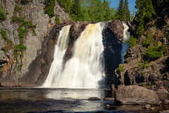 Baptism River 20190622-_DSC3413 (Prairieworks Pictures) Tags: a7riii baptismriver highfalls loxia250 minnesota northshore tettegouchestatepark zeiss green landscape longexposure loxia slowshutterspeed sonaylpha sunny water waterfalls
