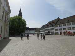 Basel Tour A (46) (FT.M) Tags: basel switzerland europe travel rhine river ducks castle tour beautiful tower cathedral gate moat hosts art architecture bridge