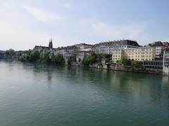 Basel Tour A (18) (FT.M) Tags: basel switzerland europe travel rhine river ducks castle tour beautiful tower cathedral gate moat hosts art architecture bridge