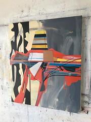 Jim Harris: Europa Surface Probe. (Jim Harris: Artist.) Tags: art arte painting kunst peinture abstractart avantgarde technology technik maalaus taide space weltraum contemporaryart cosmology cosmos moon