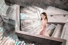 IMG_1260-2-00 (MK影像) Tags: photography beauty model style canon eye fashion 廢墟 個性 寫真 人像攝影