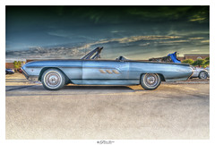Vintage Thunderbird (Pearce Levrais Photography) Tags: car automobile thunderbird classic vintage sony a7r3 hdr thebestofhdr outside outdoor sky cloud auto vehicle luxury