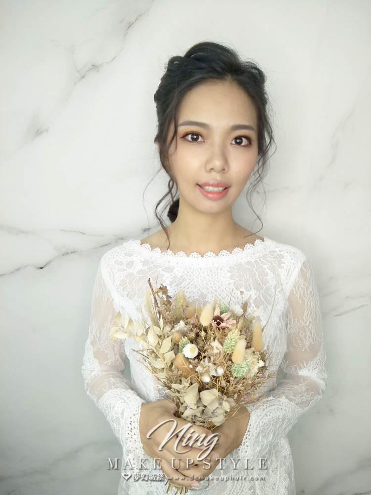 【新秘羽寧】新娘造型創作 / 氣質編髮造型