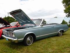 1966 Plymouth Valiant Signet Convertible (splattergraphics) Tags: 1966 plymouth valiant signet convertible abody mopar carshow aacamuseum hersheypa