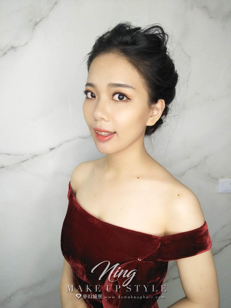 【新秘羽寧】新娘造型創作 / 優雅盤髮造型