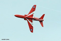 Red Arrows  J78A0691 (M0JRA) Tags: red arrows duxford airshow vintage aircraft planes warbirds people sky clouds jets airfields props otts raf airforce flying helicopters legends