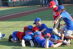 Dogpile to try to get a ball (Minda Haas Kuhlmann) Tags: sports baseball milb minorleaguebaseball pacificcoastleague omahastormchasers nebraska omaha sarpycounty outdoors fans onfieldpromotions
