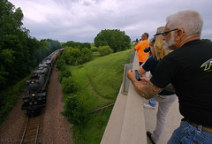 What It's All About (Jeff Carlson_82) Tags: up uprr bigboy steam train excursion unionpacific railfan railway railroad 4014 nevada ia iowa connector junction railfans photographers people