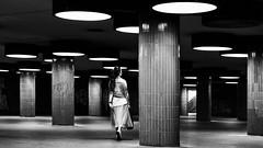 Underground (Leipzig_trifft_Wien) Tags: berlin deutschland people human street streetphoto black white bnw contrast