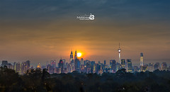 Good Morning KL! (Albert Photo) Tags: kl malaysia city heart capital skyscrape klcc twintower kltower skyline