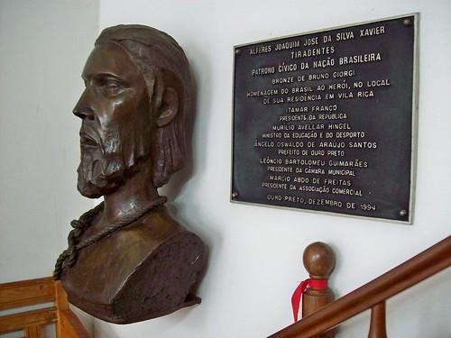 Busto de Tiradentes - Casa de Tiradentes - Ouro Preto