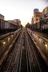 These Days (Thomas Hawk) Tags: america chicago cookcounty illinois usa unitedstates unitedstatesofamerica wickerpark subway traintracks fav10 fav25 fav50 fav100