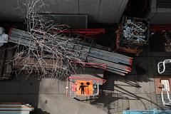 air traffic controller (jhnmccrmck) Tags: melbourne victoria fujifilm fujifilmxt1 xt1 xf1855mm classicchrome parliamentstation lookingdown streetfight
