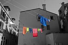wash-day - Venice - April 2019 (Dis da fi we) Tags: venice italy wash day washing colour color