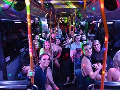 50 Seater Pink Party Bus Sydney