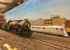 "Q 2-10-2 running extra on the Prairie Scale Model Railroad. (Chicago Rail Head) Tags: ""prairiescalemodelrailroad"" hoscale cbq prototype 2102 modeltrains burlingtonroute"