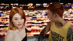 The Redheads | Bangkok Thailand (Paul Tocatlian | Happy Planet) Tags: bangkok thailand market night nightphotography streetphotography couple happyplanet asiafavorites