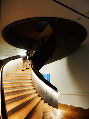 Spiral Staircase at the Tai Kwun Contemporay Art Center (marco_albcs) Tags: hongkong hk china spiral staircase architecture herzog meuron taikwun centralandwestern hongkongsarchina