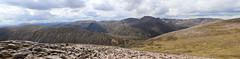 Mountain Panorama (steve_whitmarsh) Tags: aberdeenshire scotland scottishhighlands highlands landscape mountain hills panorama topic