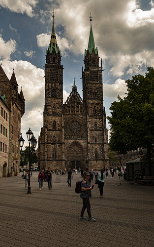 St. Lorenz Church, Nuremburg, Germany.