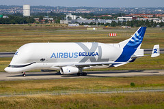 Airbus Transport International - Airbus A330-743L Beluga XL F-WBXS (F-GXLH) @ Toulouse Blagnac (Shaun Grist) Tags: fgxlh fwbxs aib airbus airbustransportinternational beluga xl whale cargo freight a330 a330743l shaungrist tls lfbo toulouse blagnac france airport aircraft aviation aeroplanes airline avgeek