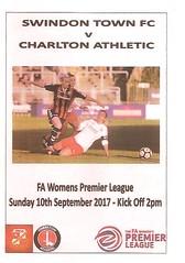 Swindon Town v Charlton Athletic (Charlton Athletic Programmes) Tags: swindon swindontown charltonathletic charlton postponed 1718