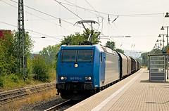 EVB 185 515 - Aachen Rothe Erde (rvdbreevaart) Tags: alphatrains evb br185 aachen rotheerde trein train eisenbahn railway ferrovie gimp cargo bombardier traxx
