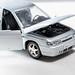 Car toy metal model VAZ 2112 with open doors and hood
