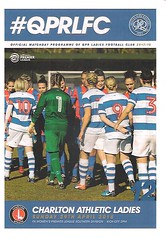 Queens Park Rangers v Charlton Athletic (Charlton Athletic Programmes) Tags: qpr queensparkrangers charltonathletic charlton women ladies 1718
