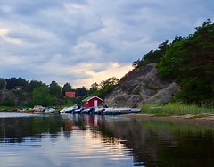 Sunset. Hvaler, Norway.