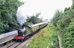 5541 at St Marys. (curly42) Tags: 5541 steam railway dfr stmaryshalt travel transport deanforestrailway preservedsteamloco
