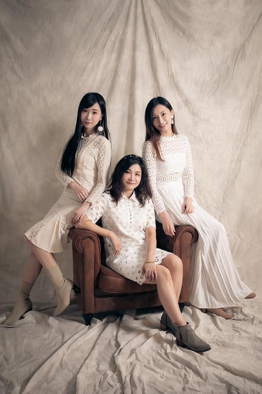 母女寫真,全家福攝影,姊妹寫真,家庭攝影