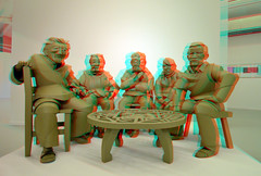 Coda Paper-art 2019 Apeldoorn 3D (wim hoppenbrouwers) Tags: coda paperart 2019 apeldoorn 3d anaglyph stereo redcyan