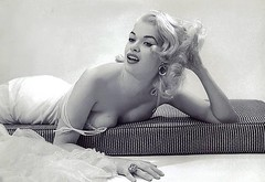 Jayne Mansfield (poedie1984) Tags: jayne mansfield vera palmer blonde old hollywood bombshell vintage babe pin up actress beautiful model beauty hot girl woman classic sex symbol movie movies star glamour girls icon sexy cute body bomb 50s 60s famous film kino celebrities pink rose filmstar filmster diva superstar amazing wonderful photo picture american love goddess mannequin black white mooi tribute blond sweater cine cinema screen gorgeous legendary iconic lippenstift lipstick lingerie oorbellen earrings busty boobs décolleté ring matras mattress