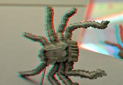 De Keerzijde CODA Museum Apeldoorn 3D (wim hoppenbrouwers) Tags: keerzijde coda museum apeldoorn 3d anaglyph stereo redcyan dekeerzijde codamuseum apeldoorn3d spiegel