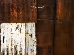Arquitextura I (Gallo Quirico) Tags: chapa óxido abstracto abstracion texturas abstract textures oxide decay decadencia olympus stylus1