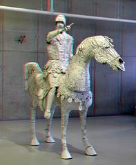 Paper-Art CODA Apeldoorn 3D (wim hoppenbrouwers) Tags: paperart coda apeldoorn 3d anaglyph stereo redcyan
