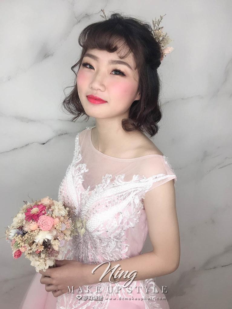 【新秘羽寧】新娘造型創作 / 短髮俏麗造型