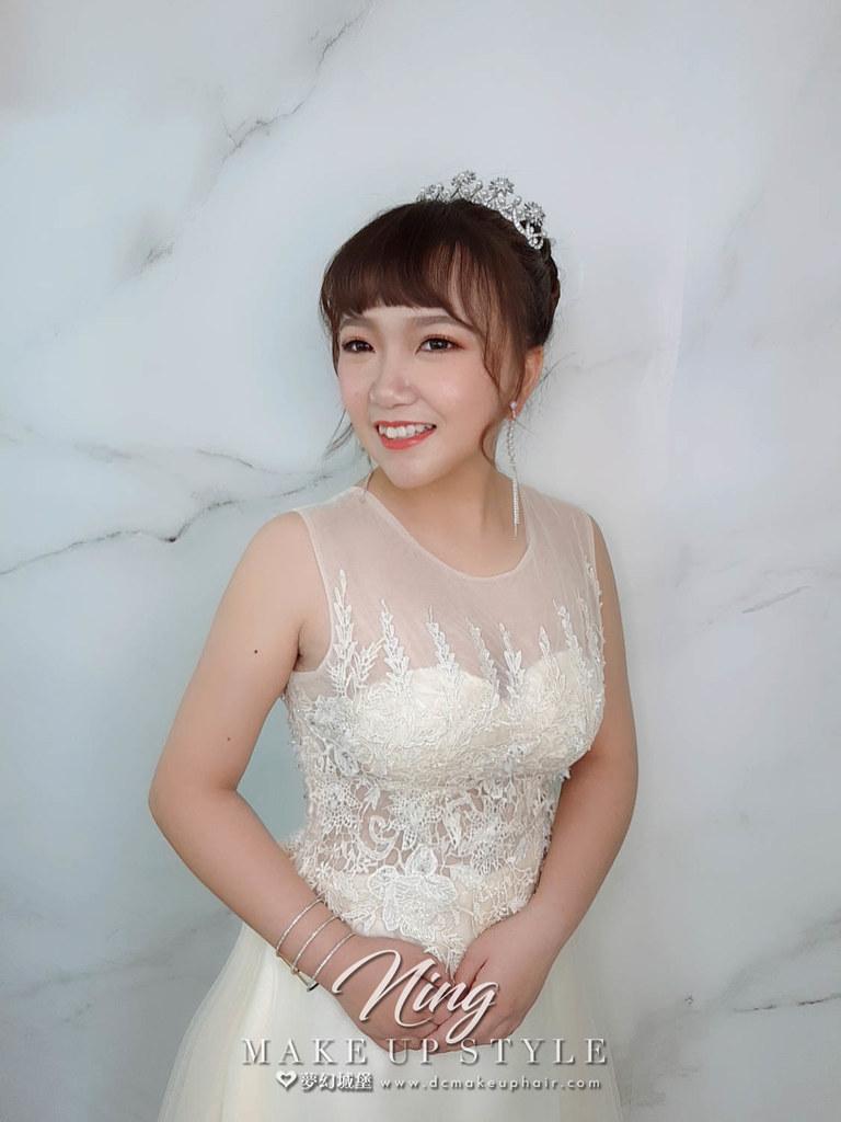 【新秘羽寧】新娘造型創作 / 俏麗高盤髮造型